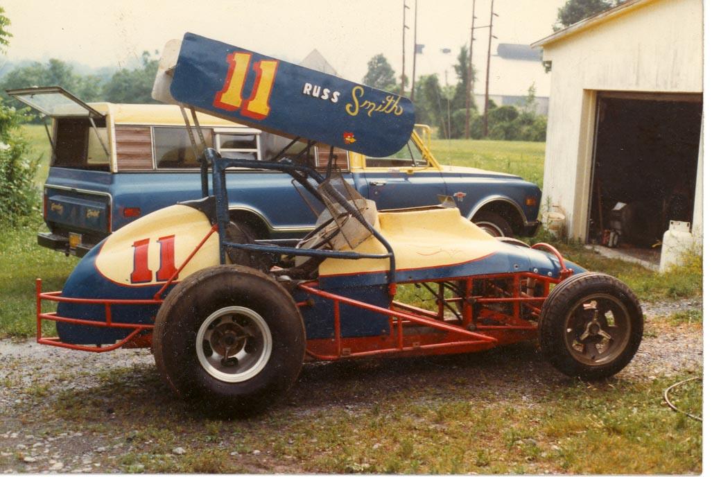 Russ Smith Race Car